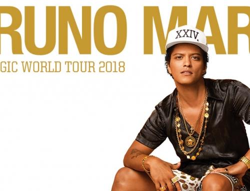 Bruno Mars Announces 24K Magic World Tour