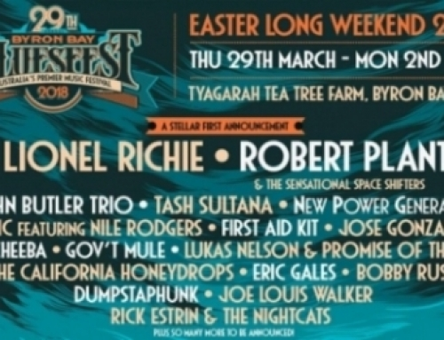 BLUESFEST First Artist Announcement For 2018