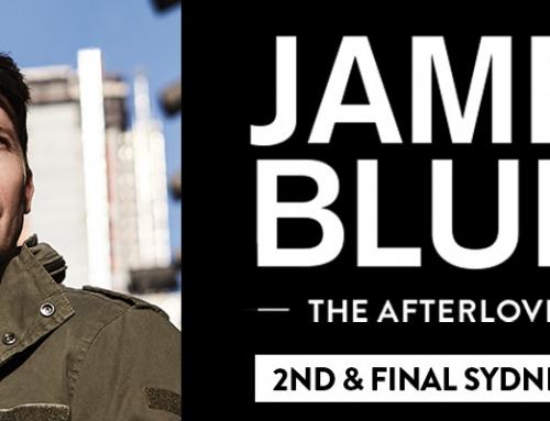 JAMES BLUNT 2nd & Final Sydney Show Added To Meet Overwhelming Demand – On Sale Wed 29 Nov